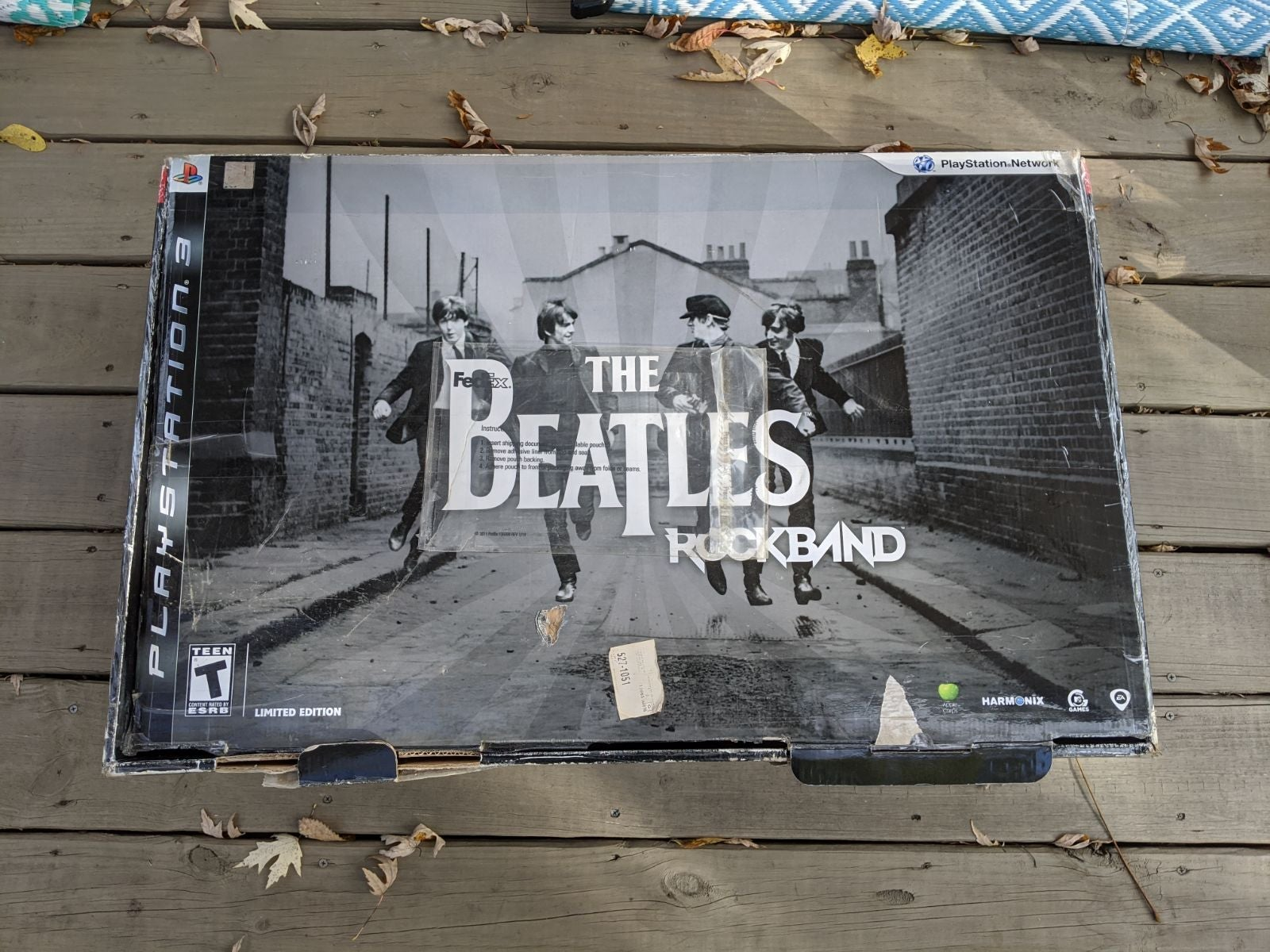 PS3 the Beatles rockband drums