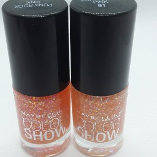(2) Maybelline Color Show Nail Polish#91