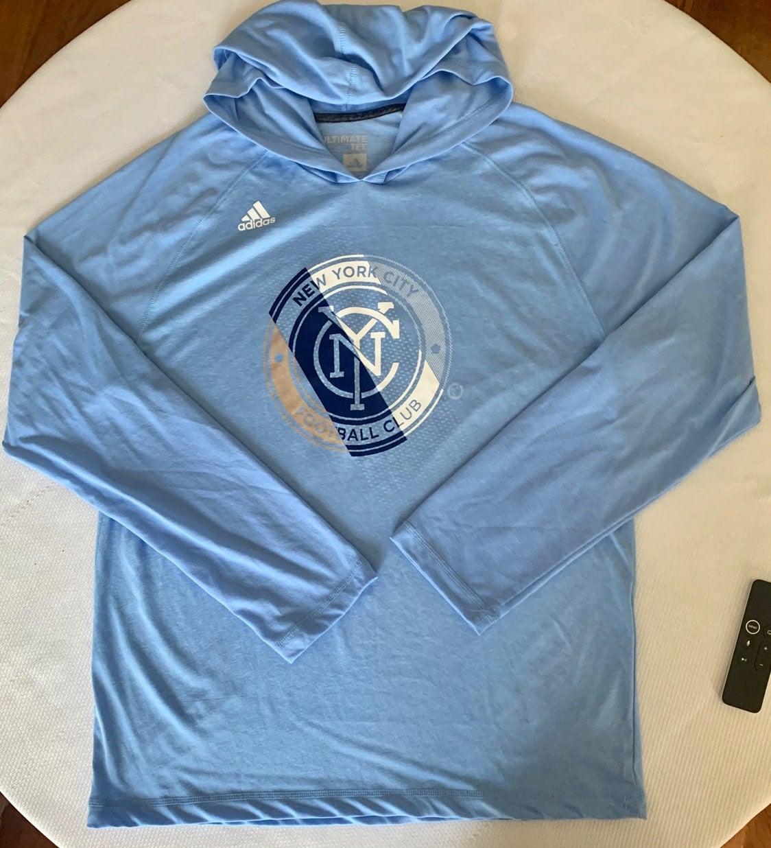Adidas NYC football club t-shirt
