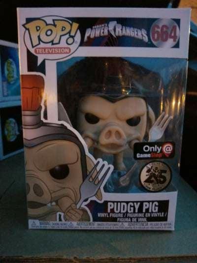 Pudgy Pig Funko Pop