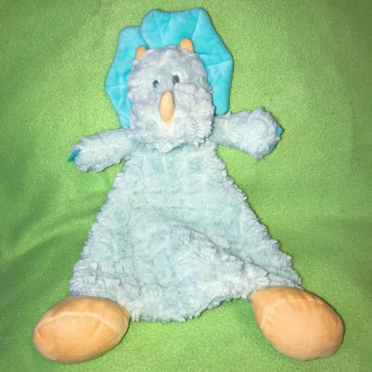 Rattle Lovie Plushie Blanket Dino