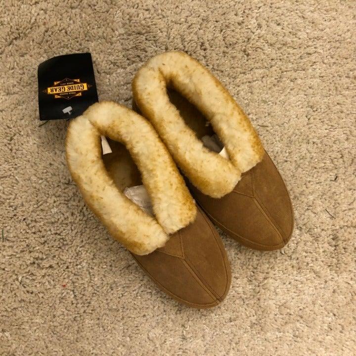 Guide Gear Wool Roll Bootie Slipper