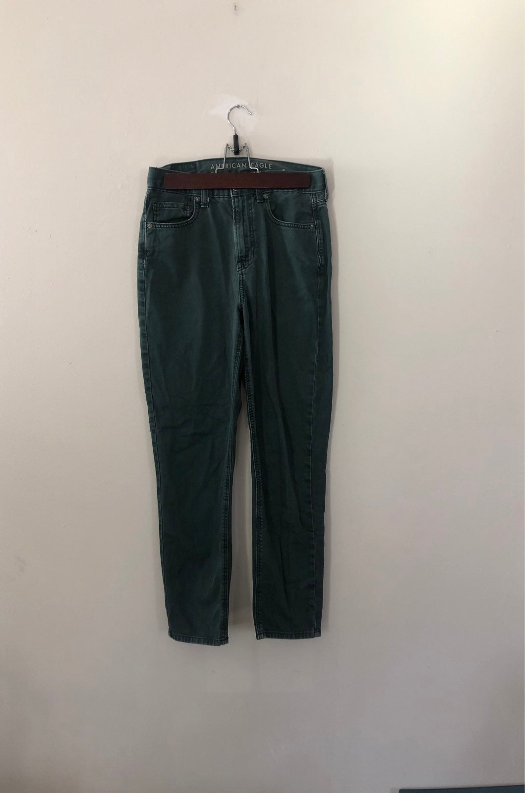 Green Mom Jeans