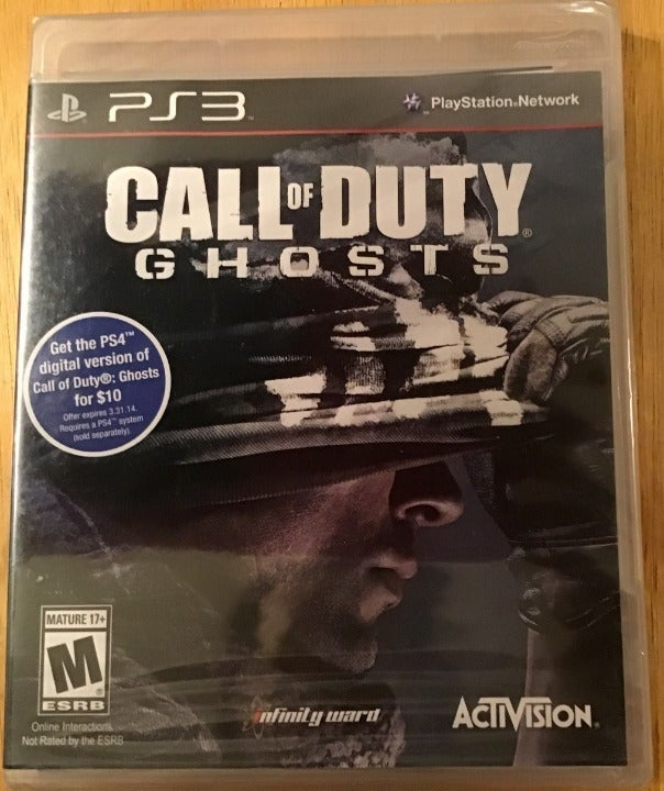 Call Of Duty Ghosts PS3 NEW