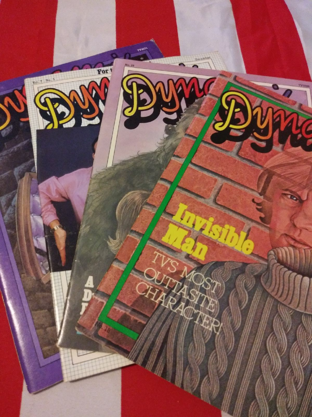 DYNAMITE MAGAZINE (LOT OF 4 ISSUES)