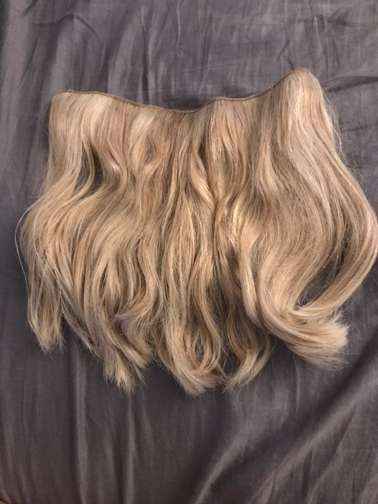 Gently used layered halocouture 116