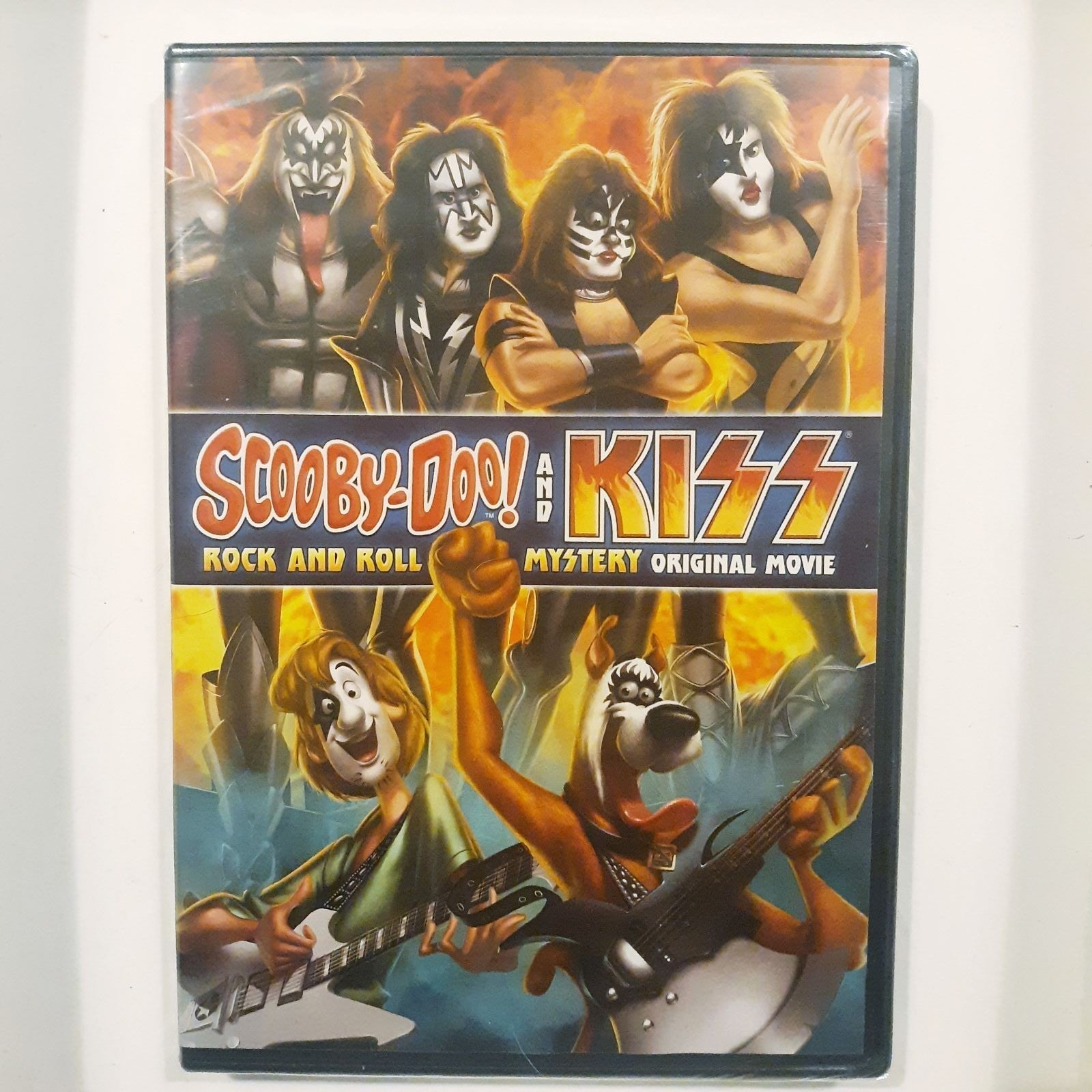 Scooby Doo and Kiss Movie DVD