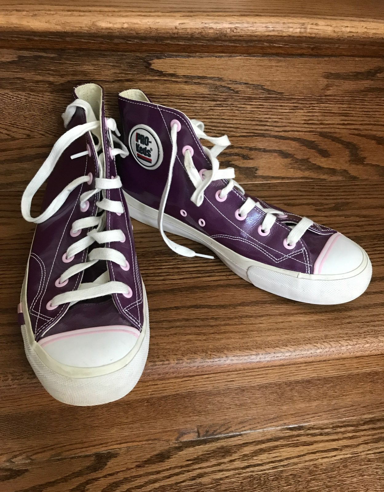 PRO KEDS high top leather sneakers