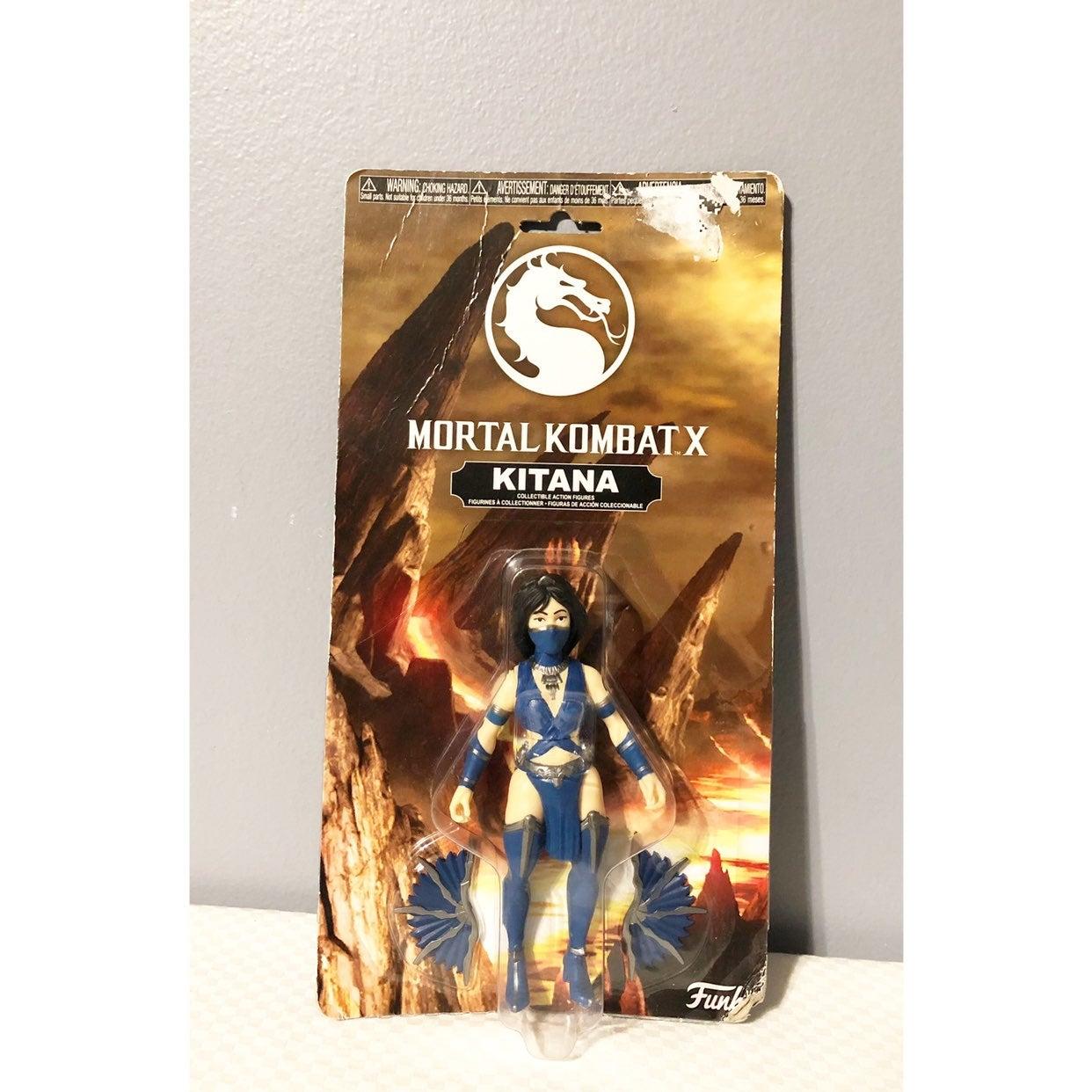 "3 pc Funko Mortal Kombat X ""KITANA"""