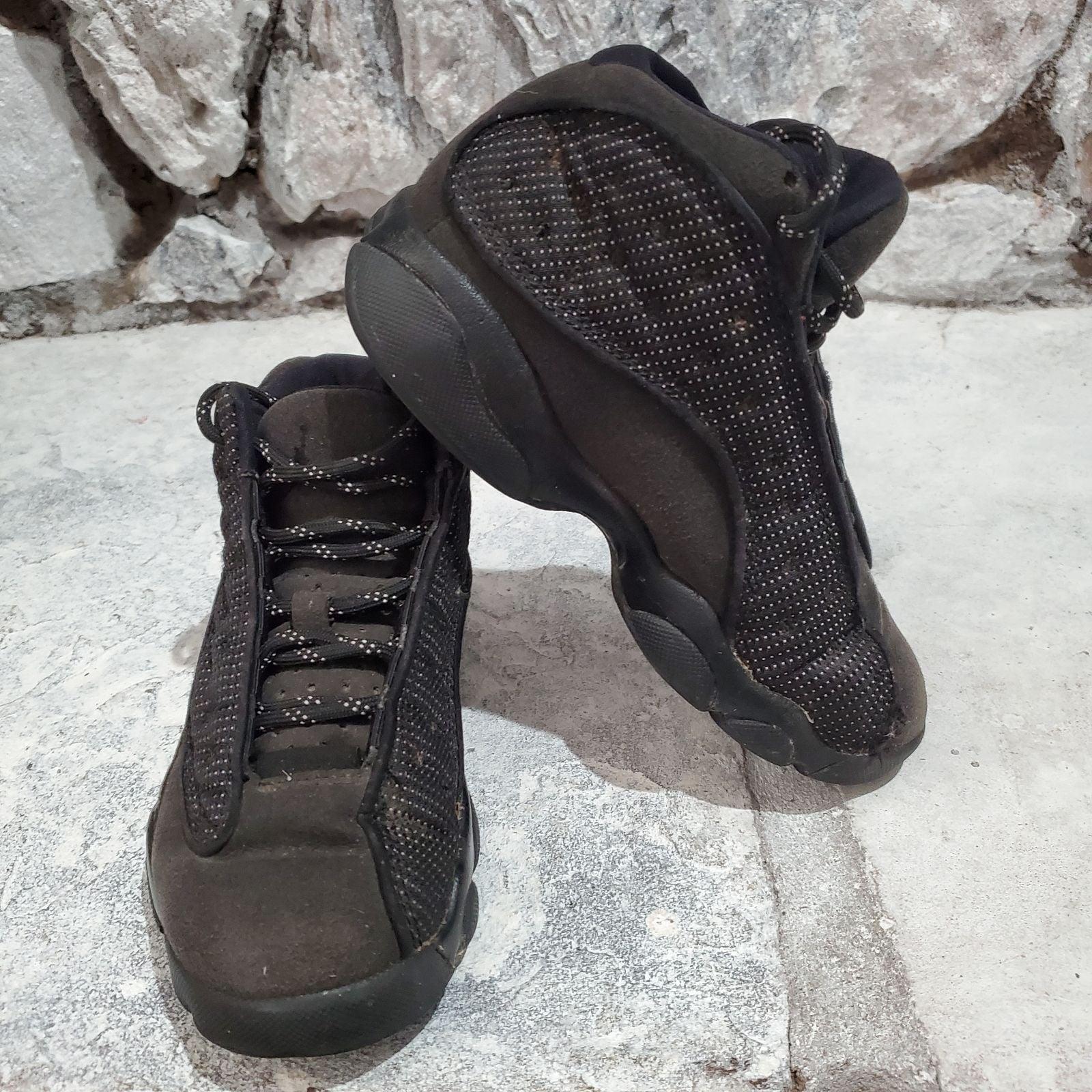 Jordan 13 Size Kids 13c Black