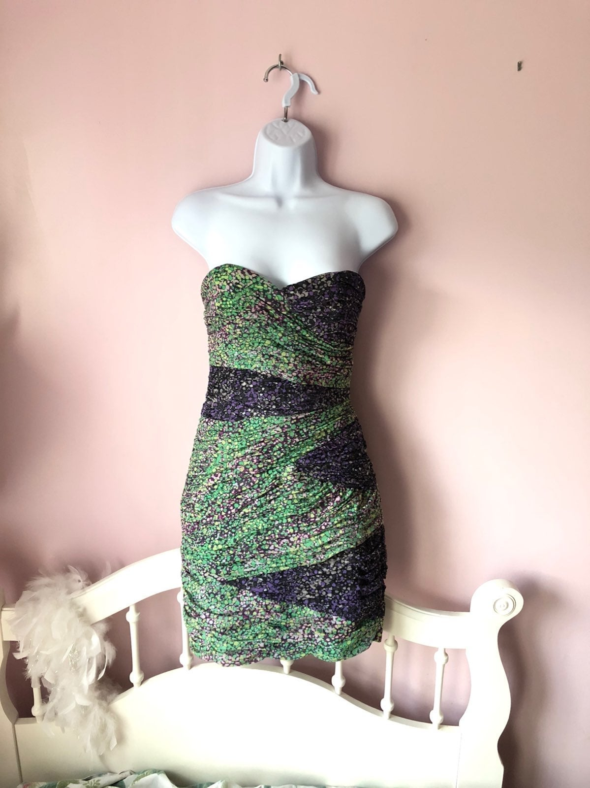 Bcbgmaxazria Strapless Dress Size 8