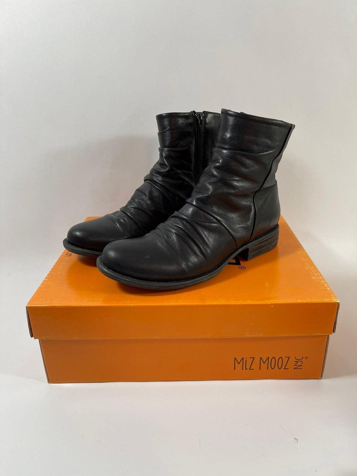 Miz Mooz Leather Booties
