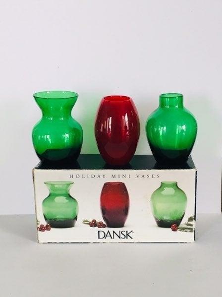 Mini Dansk Vases
