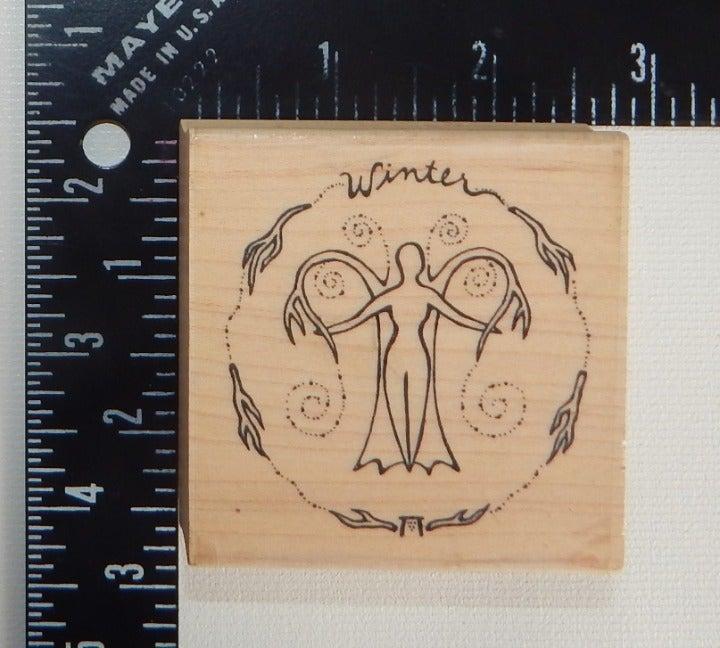 Goddess Creative Designs Winter Stamp