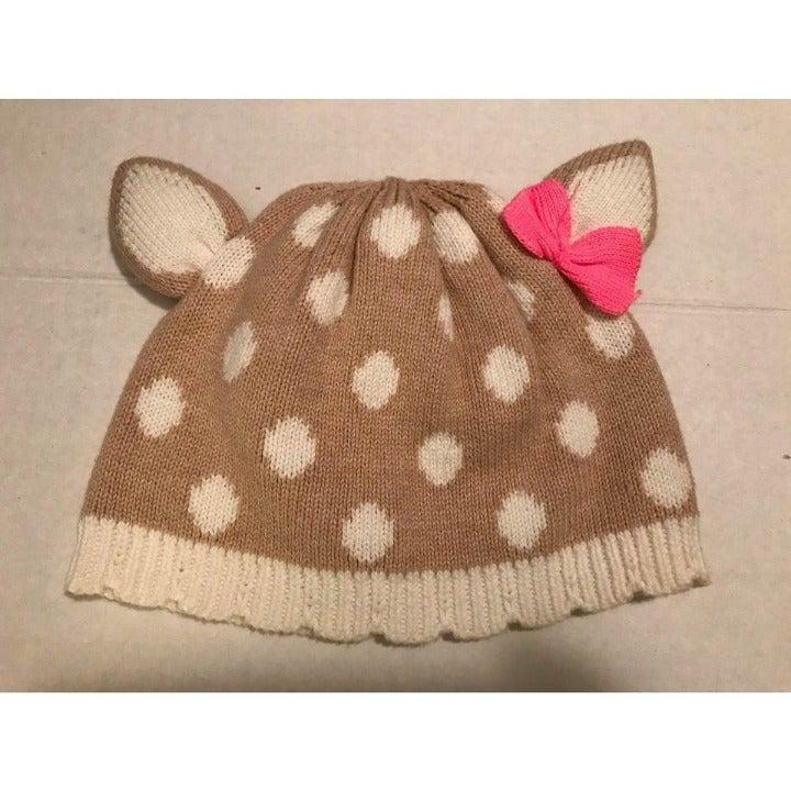 Gymboree Cat Knit Hat - Size 6/12 months