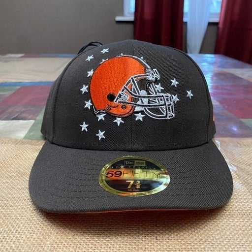 Cleveland Browns Hat 59fifty 2019 NFL Draft On Spotlgiht New Era NFL Size 7 3/8