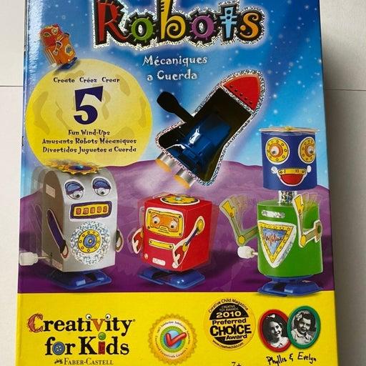 Wind Up Workshop Robots