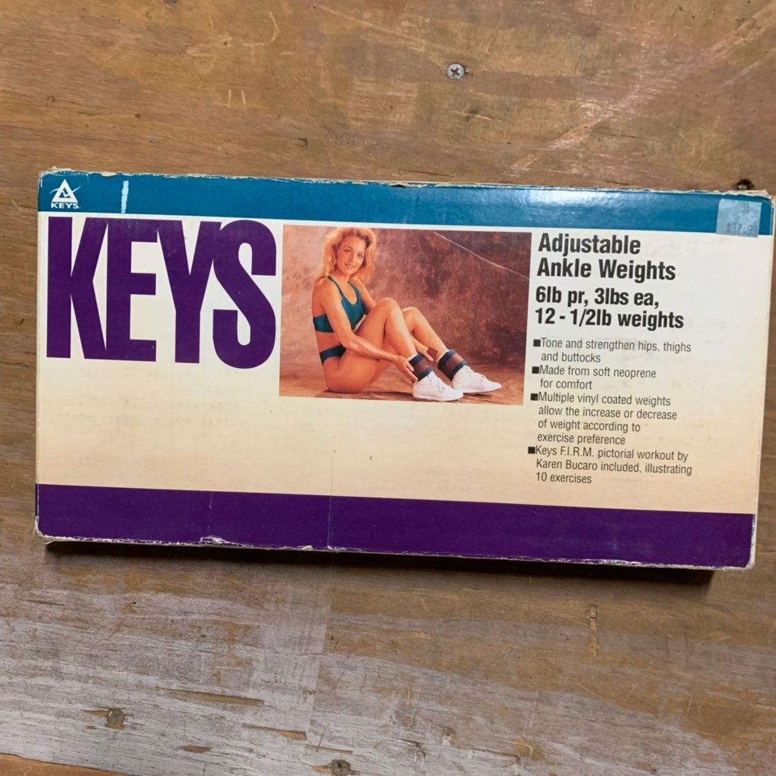 Keys Adjustable ankle weights