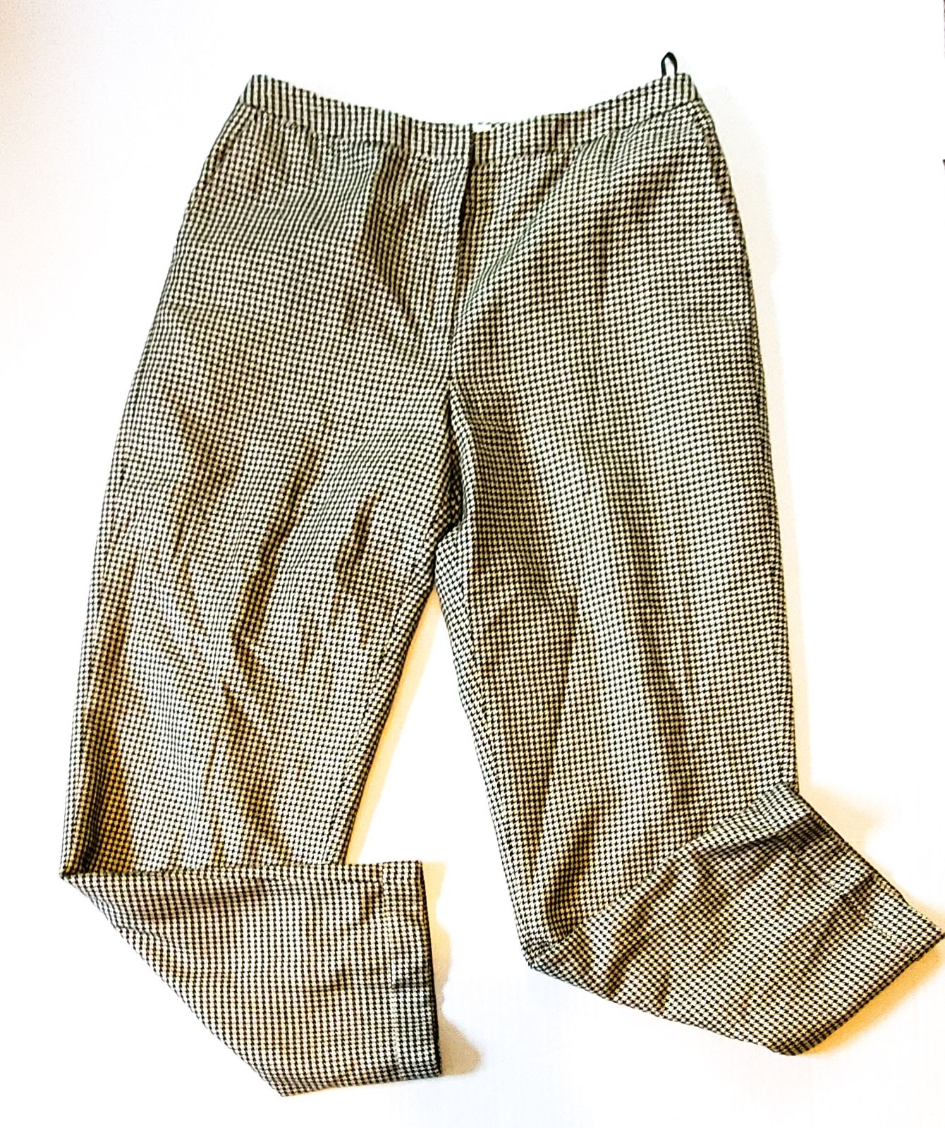 Houndstooth pants by talbots