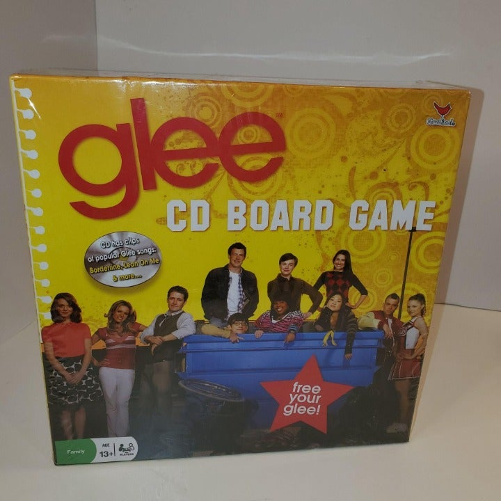 NEW SEALED Glee CD Board Game Nostalgic