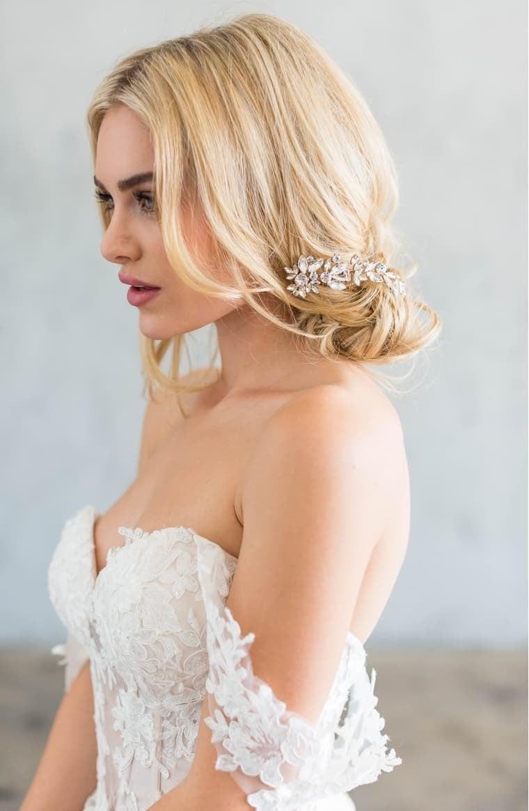Brides & Hairpins Cameo Crystal Comb