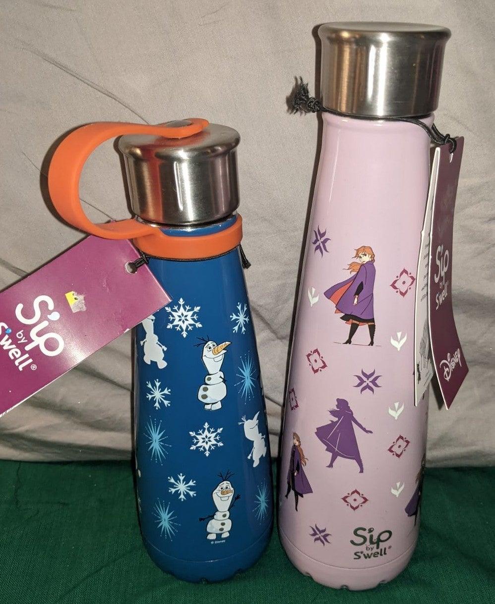 2 Disney Frozen 2 Sip by Swell bottles,