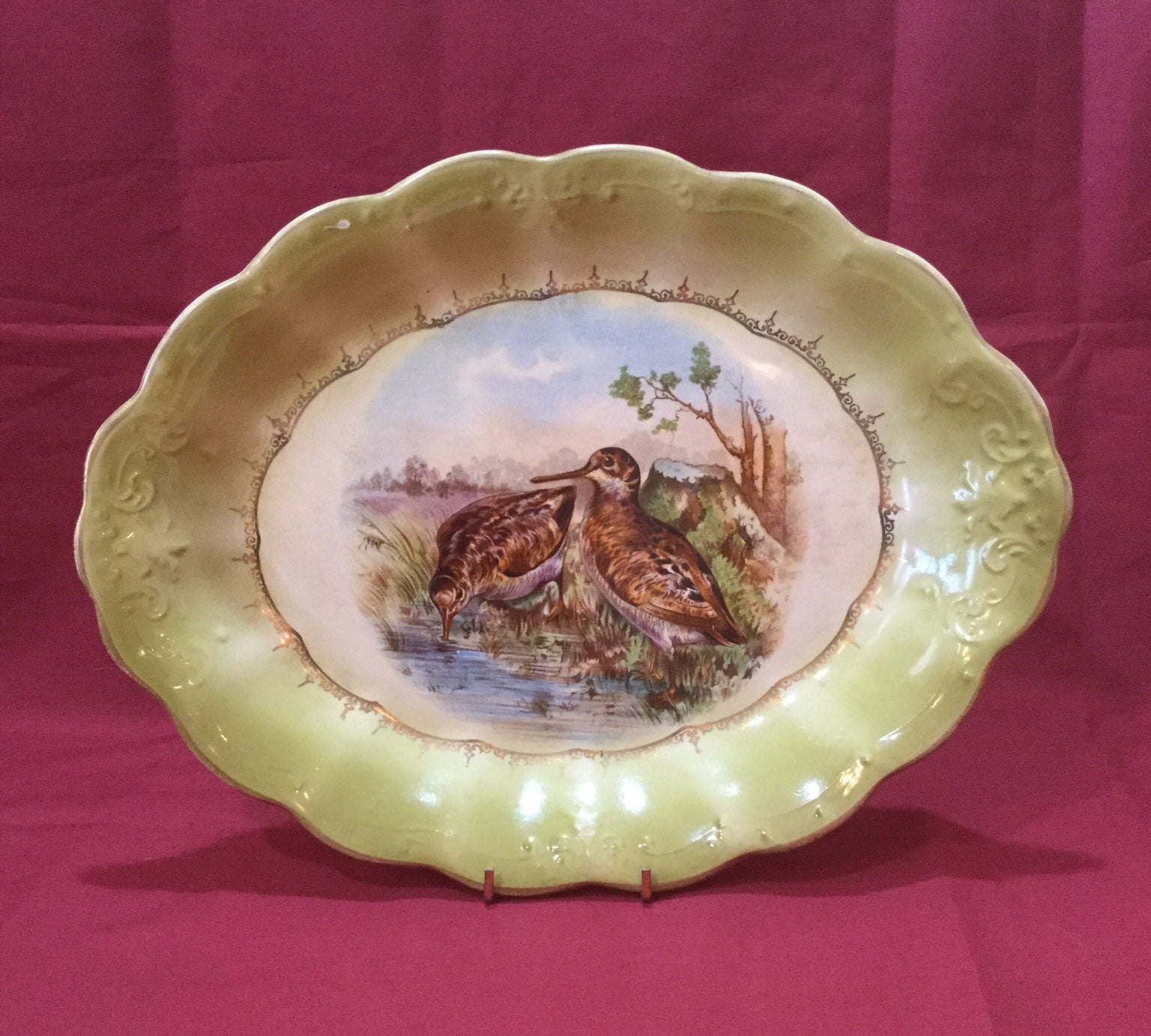 La Francaise Porcelain Platter
