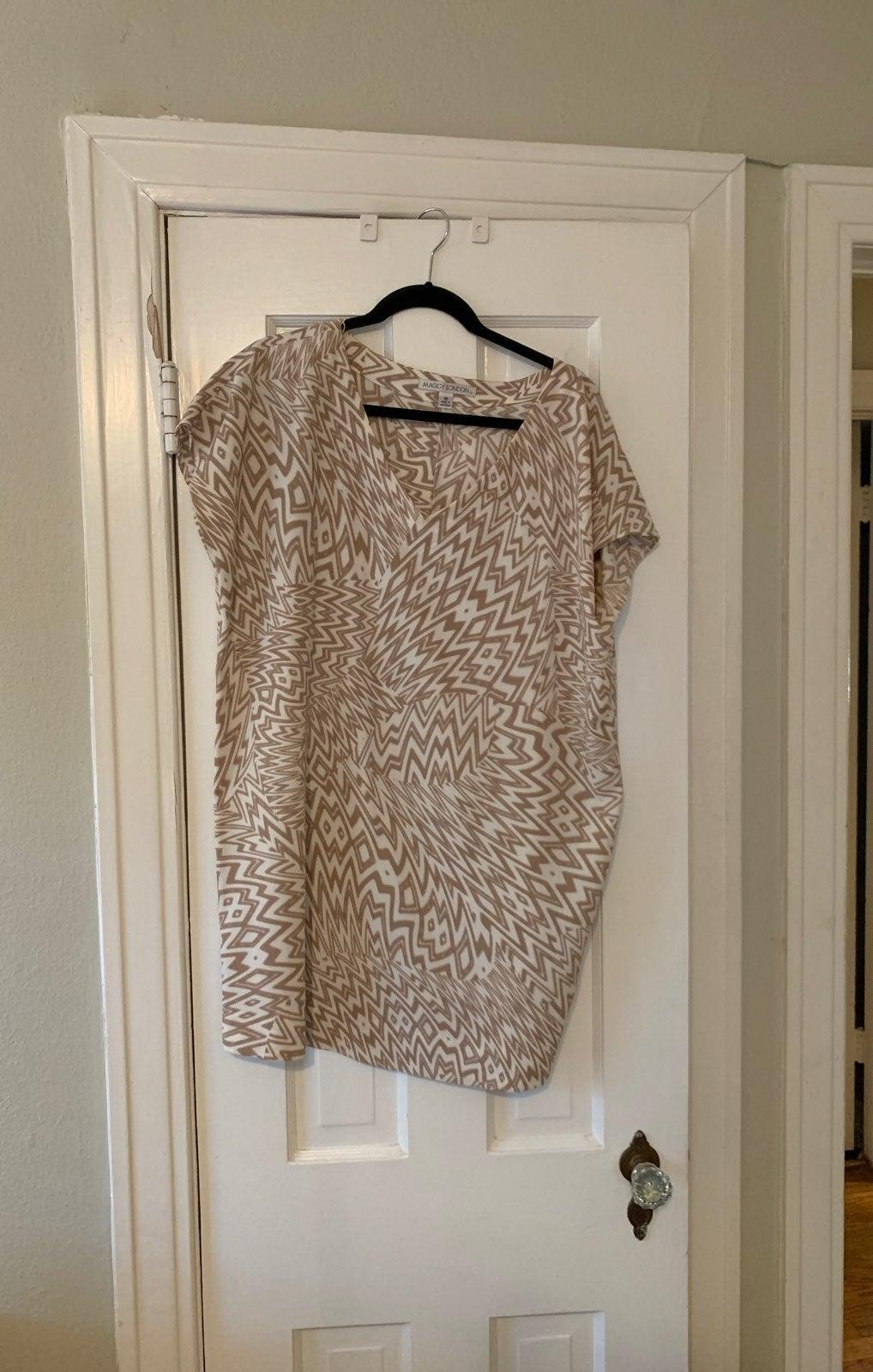 Maggie London Size 10 Dress