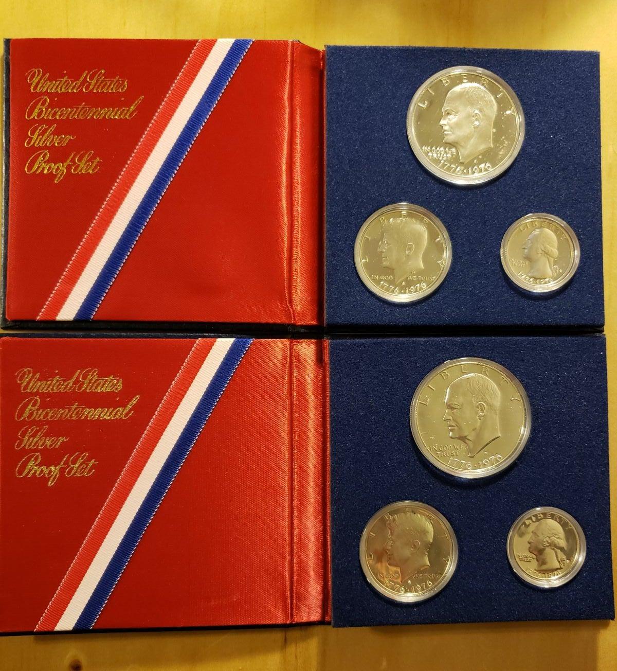 Bicentennial Silver Proof Sets