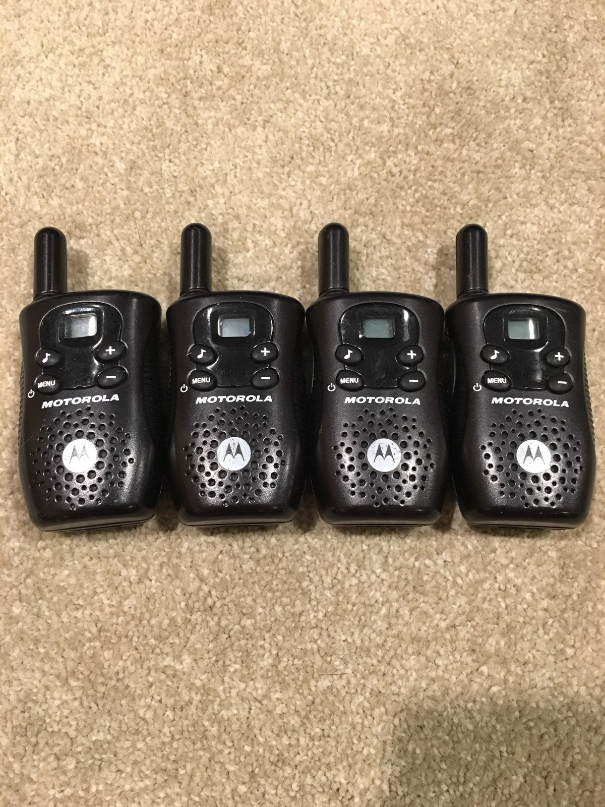 Motorola 22 Channel Walkie-Talkies