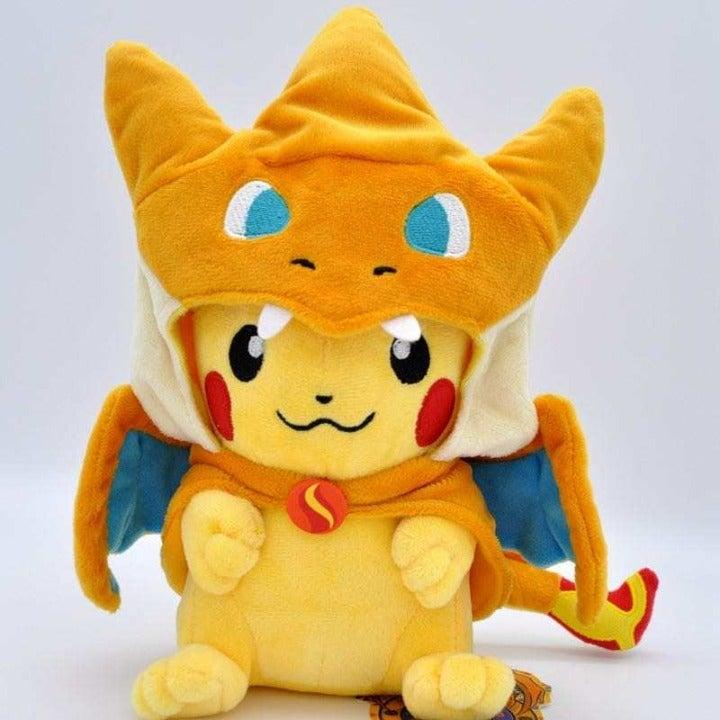 Pokemon Charizard PikaChu Plush Doll