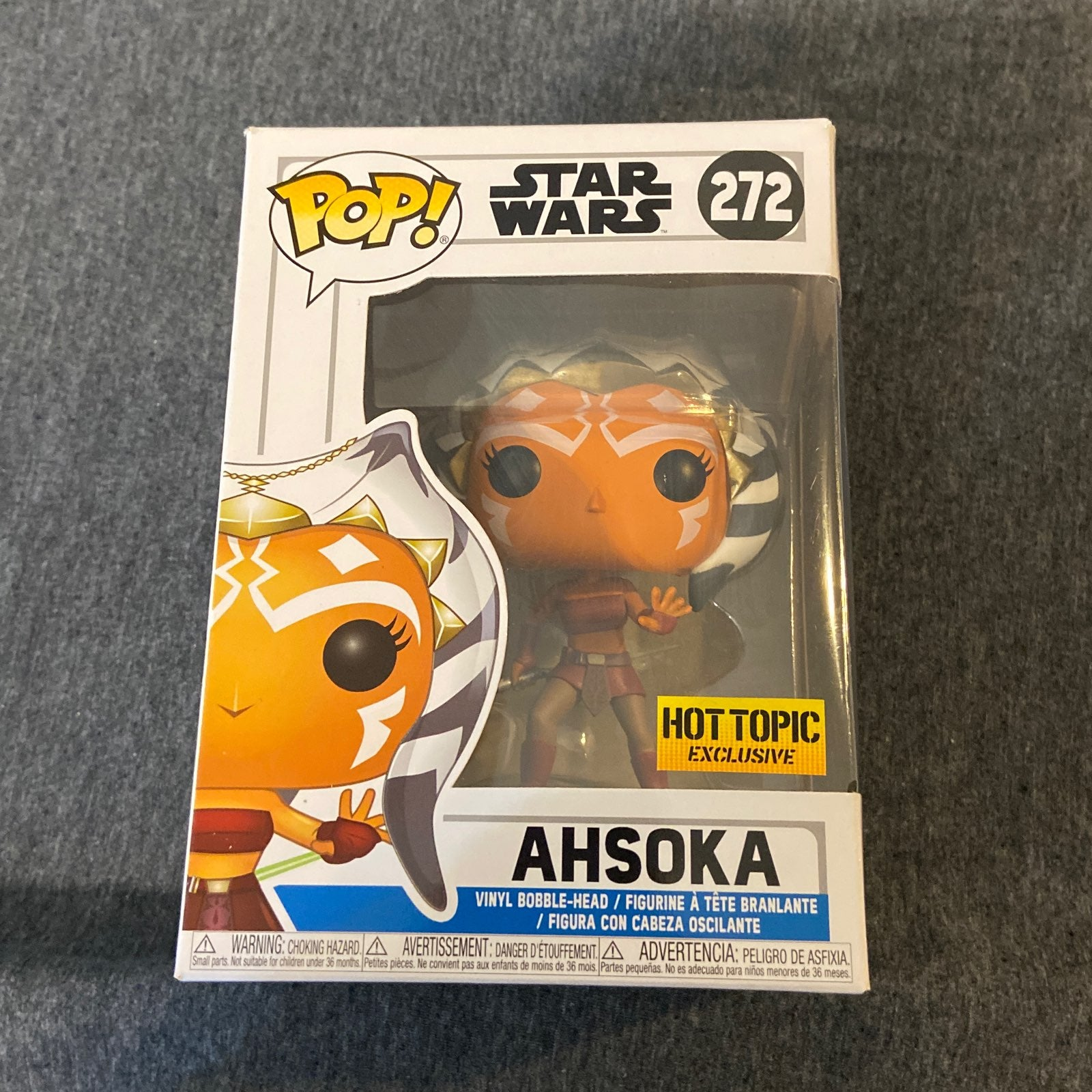 Vaulted Star Wars Ahsoka Tano Funko Pop
