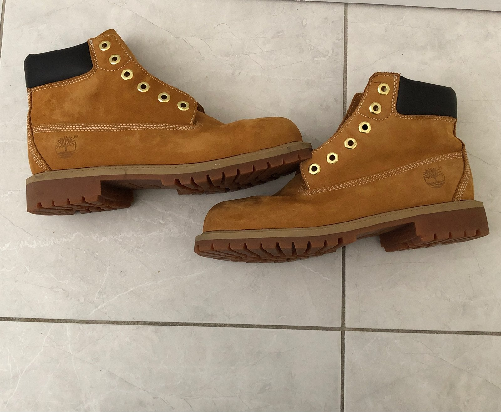 Timberland Leather Boot Junior Size 3