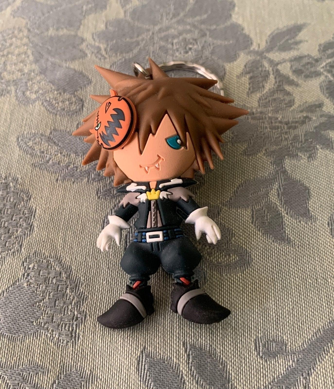 Kingdom Hearts Vampire Sora Keychain