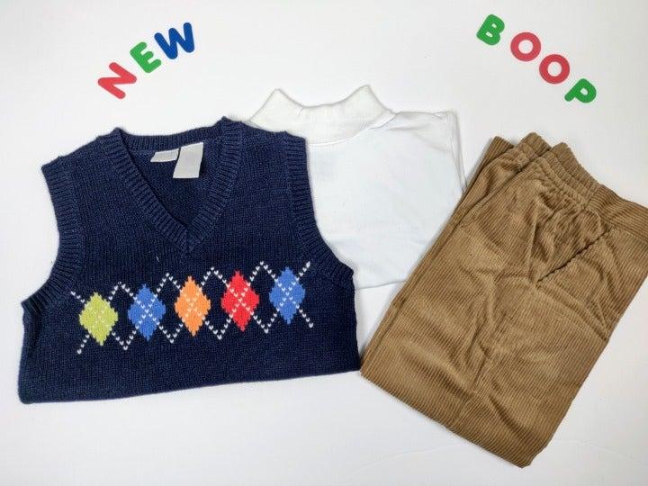 Boys Clothes 3 PC Sweater Set size 4T