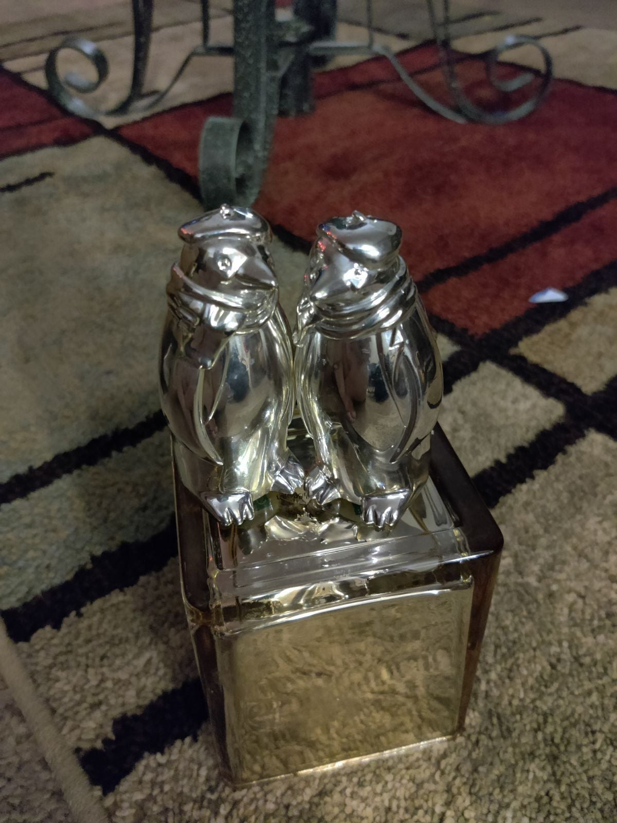 Stainless salt and pepper shaker