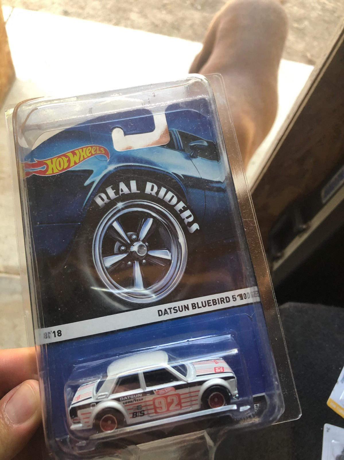 Hot Wheels Real Riders Datsun 510