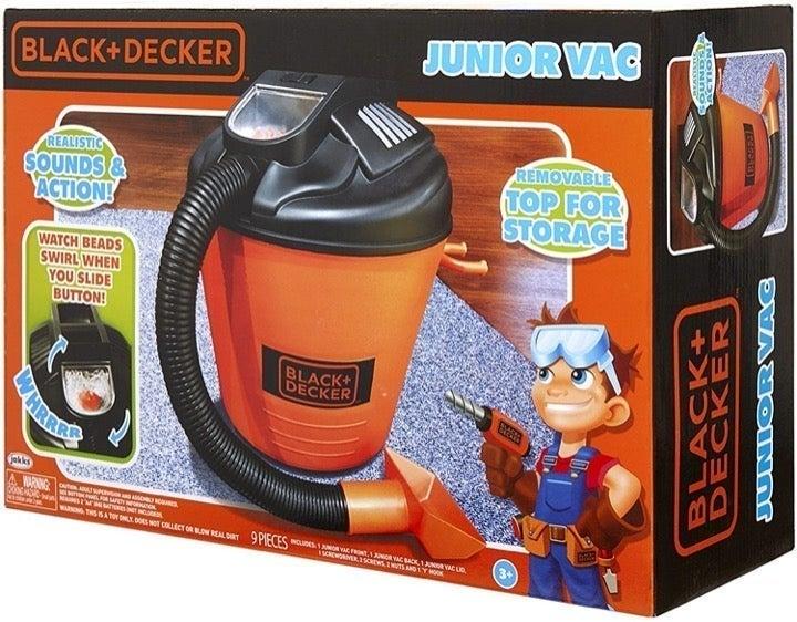 Black & Decker Junior Vacuum Toy