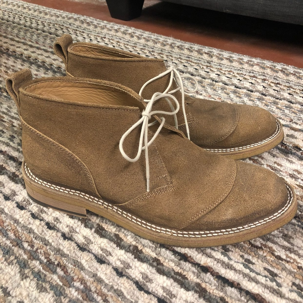 Belstaff England Suede Chukka Boots
