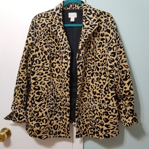 Chico's cougar blazer XL (size 16)