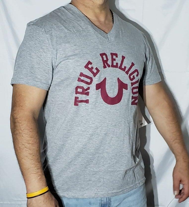 Tru religion t shirt gray Size M