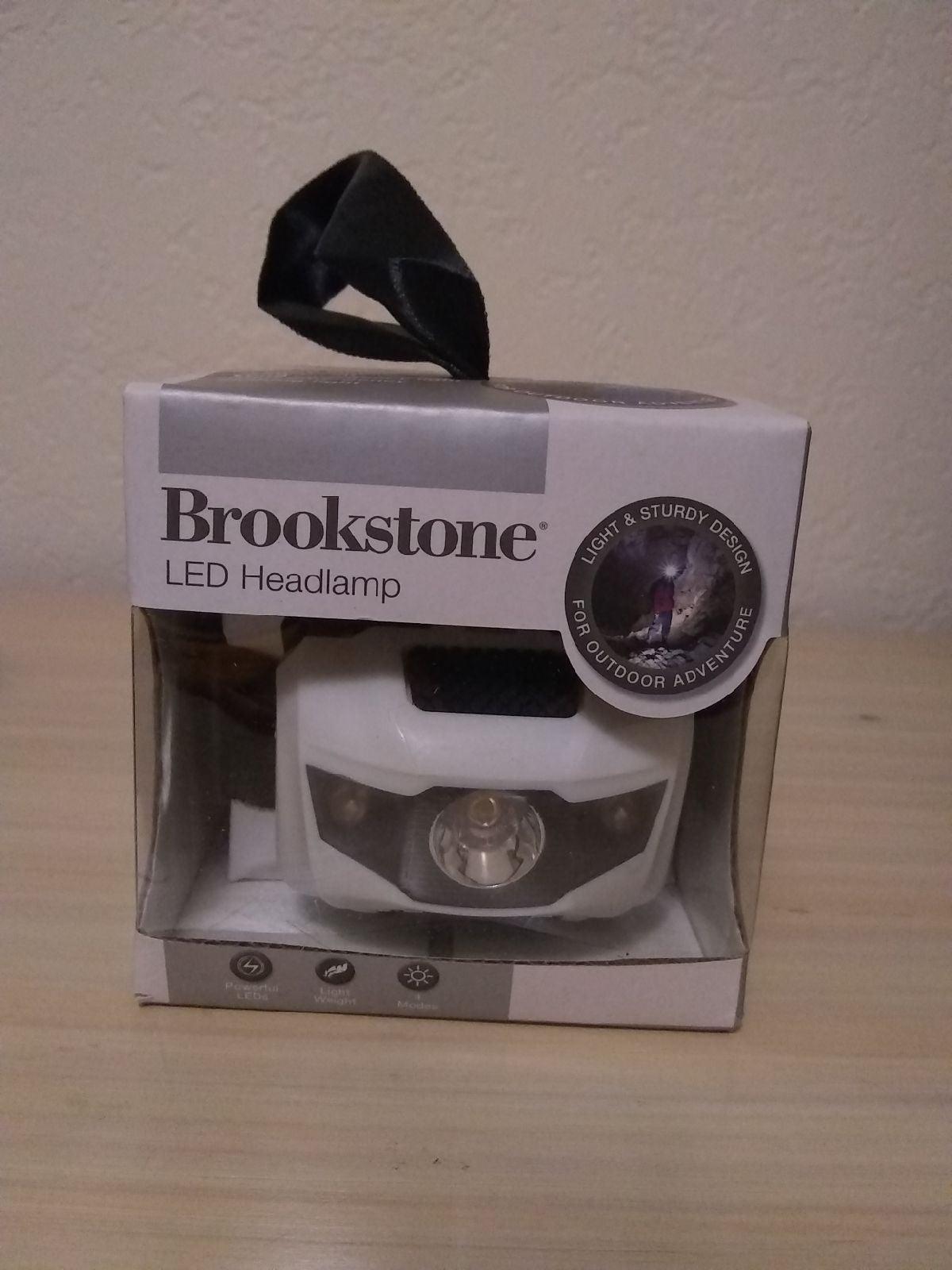 Brookstone LED Headlamp