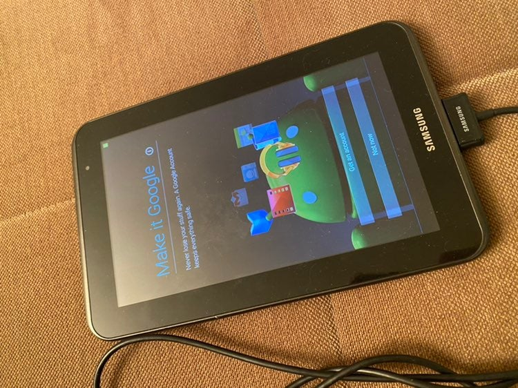 Samsung galaxy tab 2 - 7 inches tablet