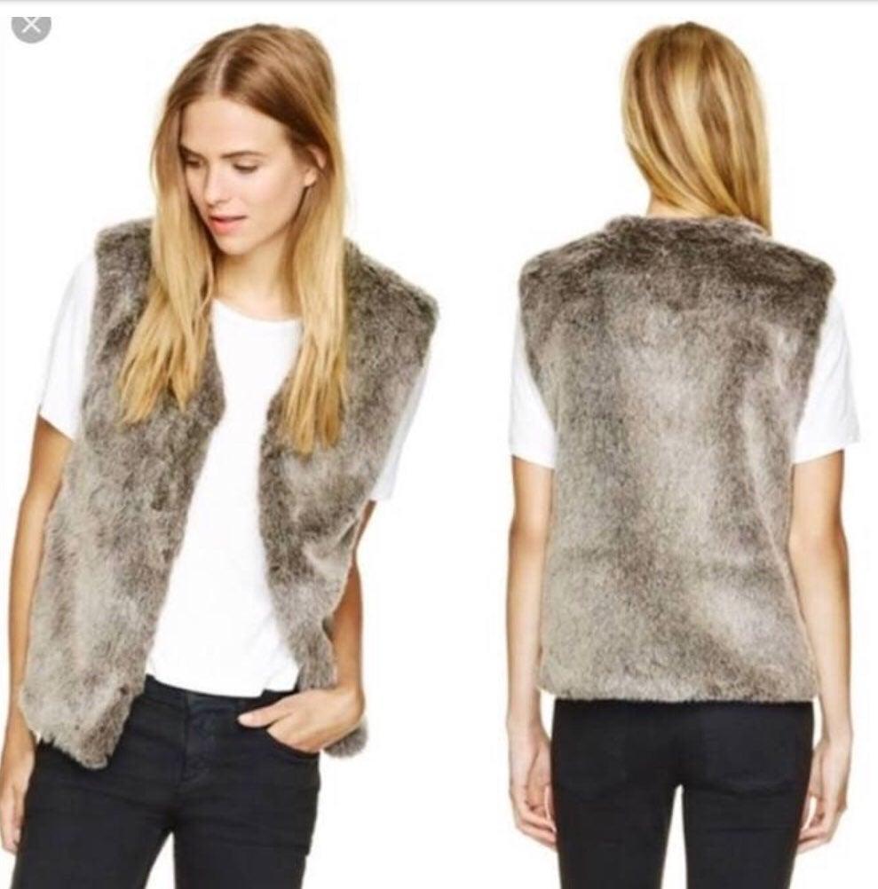 Talula Park Slope Faux Fur Vest