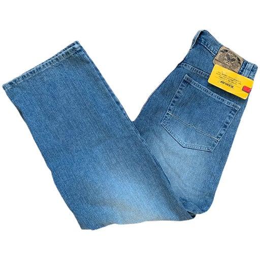 NWT Vintage Faded Avirex Denim jeans