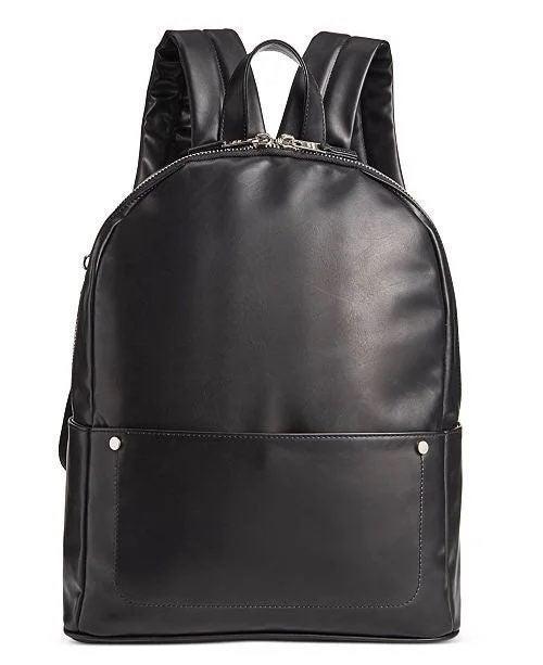 Steve Madden Men's Faux-Leather Backpack