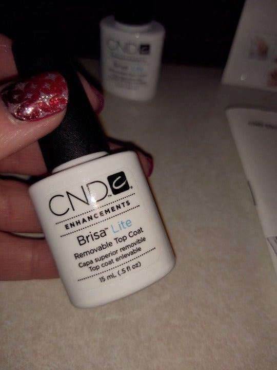 CND Brisa Lite free gel included