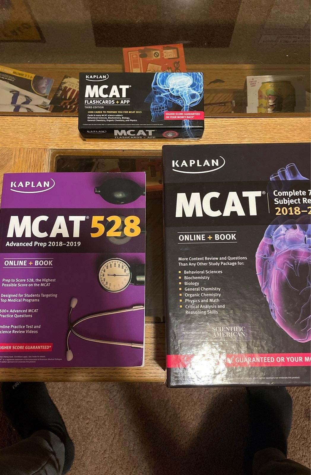 Kaplan MCAT Test Prep