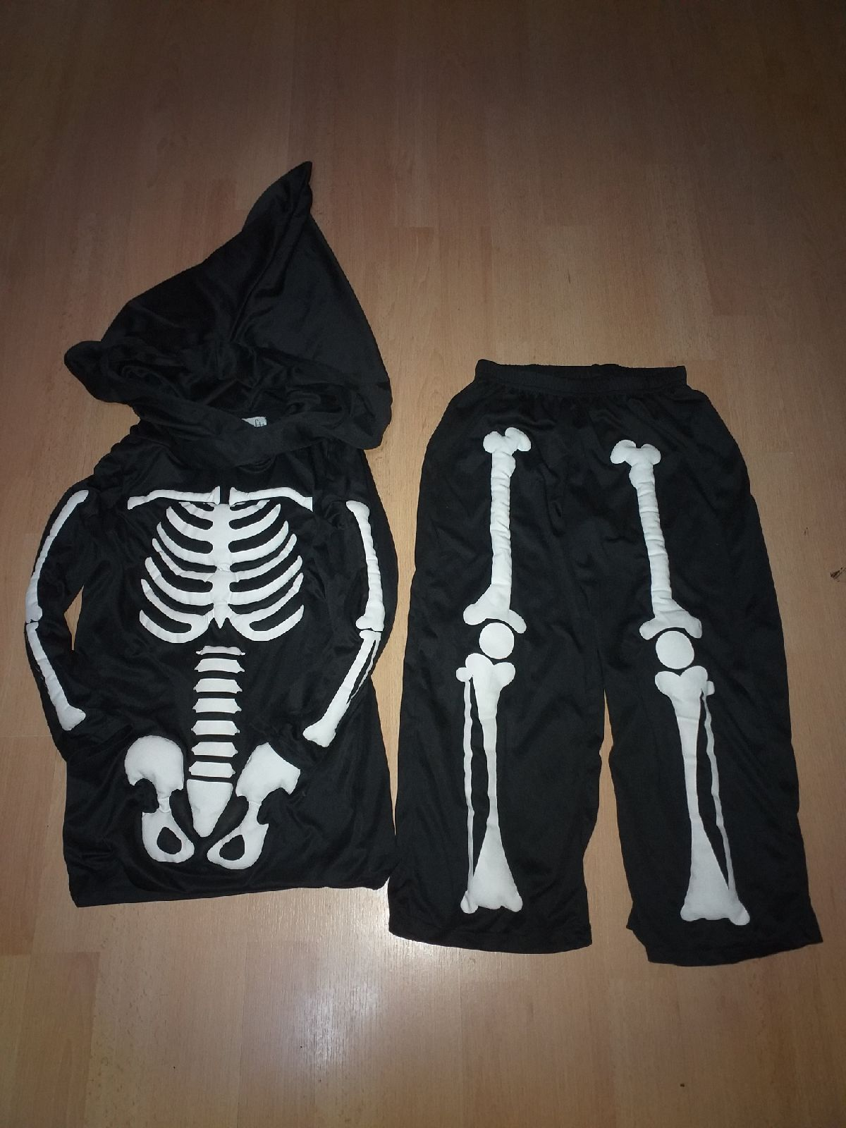 Kids skeleton costume