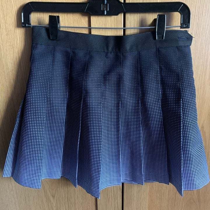 Womens American Apparel Pleated Skirt